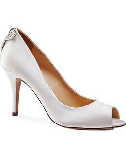 Clarity Peep Toe Shoes