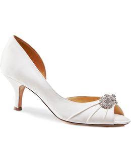 Corrine Open Waisted Peep Toe Shoes
