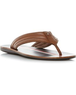 Torence 3a Leather Toepost Sandals