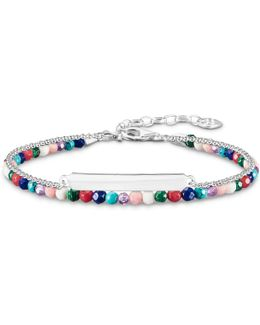 Love Bridge Multi Stone Double Bracelet