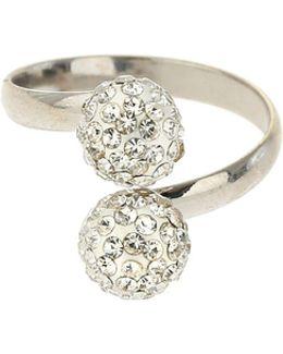 Twin Crystal Ring