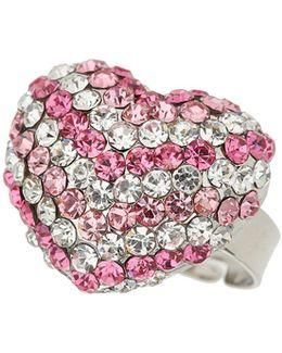 Heart Crystal Ring