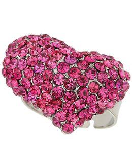 M Heart Ring