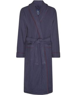 Waffle Towelling Dressing Gown
