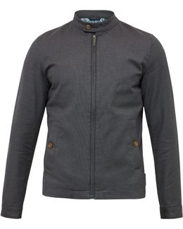Lynch Textured Cotton Jacket