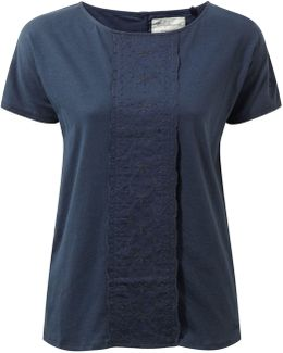 Connie Short Sleeved Lightweight Top