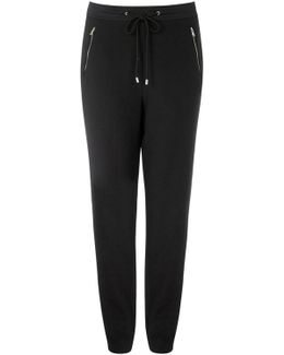 Zip Detail Cuff Trouser