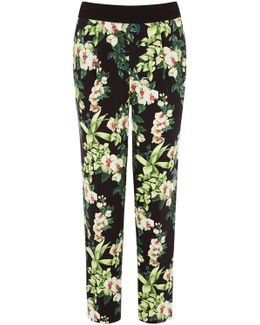 Tropical Botanical Trousers