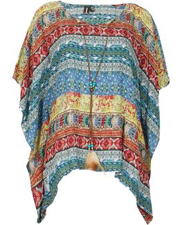 Patterned Loose Box Top