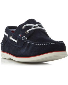 Knot 1b Suede Boat Shoes