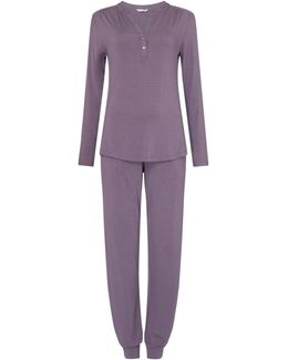 Lounge Cuffed Pyjama Set