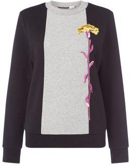 Patella Floral Sweatshirt