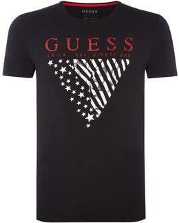 Triangle Logo Short Sleeve Tshirt