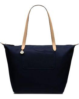 Pocket Essentials Large Ziptop Tote Handbag