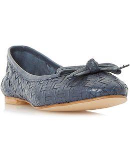 Hillary Woven Ballerina Shoes