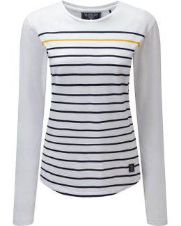 Fleur Womens Deluxe Long Sleeved T-shirt