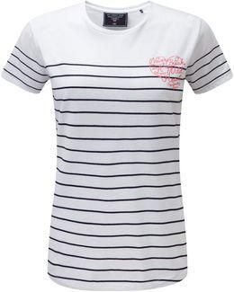 Ivy Womens Deluxe T-shirt Heart