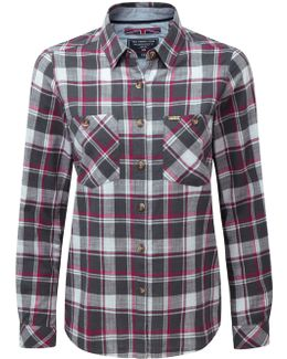Madeline Womens Checked Shirt
