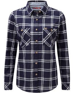 Nancy Womens Checked Shirt