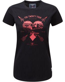 Nicky Womens T-shirt Arrow Heart