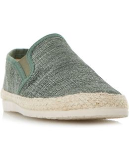 Finnick Flecked Canvas Espadrille Shoes