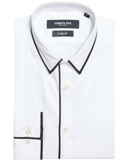 Yoshima Slim Fit Textured Shirt