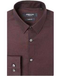 Kobe Slim Fit Textured Shirt