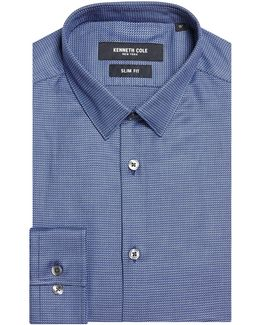 Atsuma Slim Fit Textured Shirt