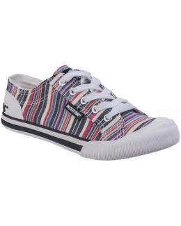 Jazzin Roads Cotton Sneakers
