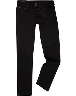 Geno Midnight Black Tapered Jeans