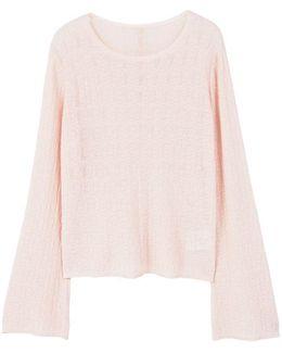 Decorative Button Sweater