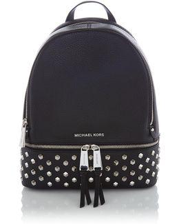 Rhea Zip Medium Stud Back Pack