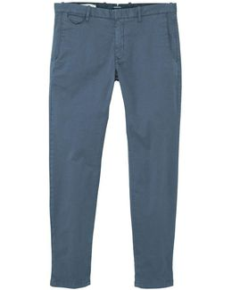 Men's Stretch Cotton Trousers
