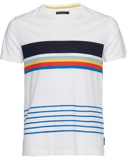 Senior Stripes Cotton T-shirt