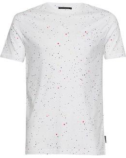 Star Splatter Printed Jersey T-shirt