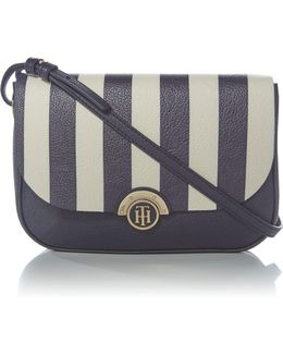 Effortless Flap Over Crossbody Bag