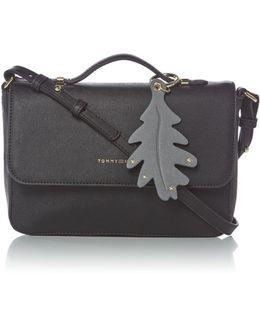 Modern Flap Over Crossbody Bag