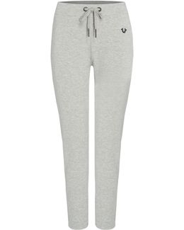 Track Pants With Metalic Detail