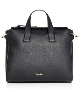 Irene Black Tote Bag