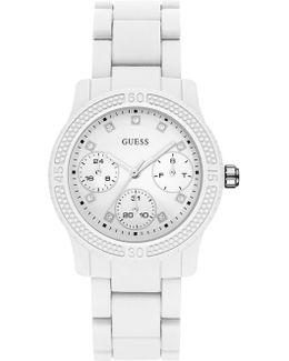 W0944l1 Ladie`s Silicone Strap Watch