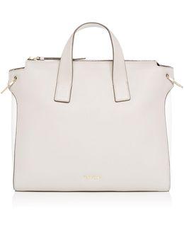 Irene Neutral Tote Bag