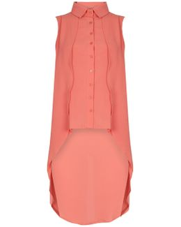 Double Layered Blouse Top