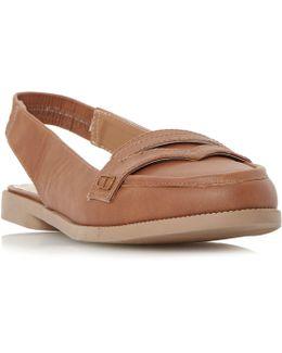 Glyndas Slingback Loafer Shoe