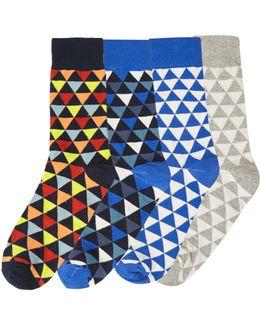 4pk Jacpete Ankle Sock
