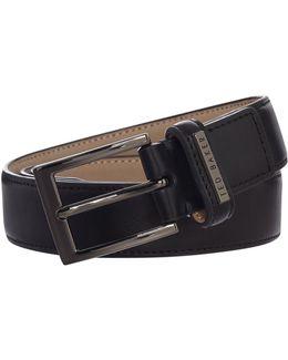Leather Keeper Plate Belt