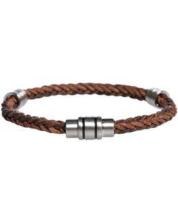 Two Colour Weave Bracelet