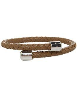 Leather Braid Bangle