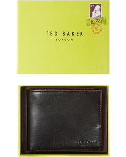 Antony Leather Billfold Coin Wallet