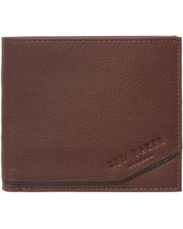 Coloured Leather Coin Pocket Wallet