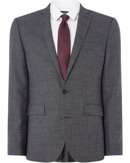 Harry Textured Slim Fit Suit Jacket